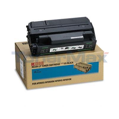 RICOH AP2610 TYPE 115 AIO TONER CARTRIDGE BLACK